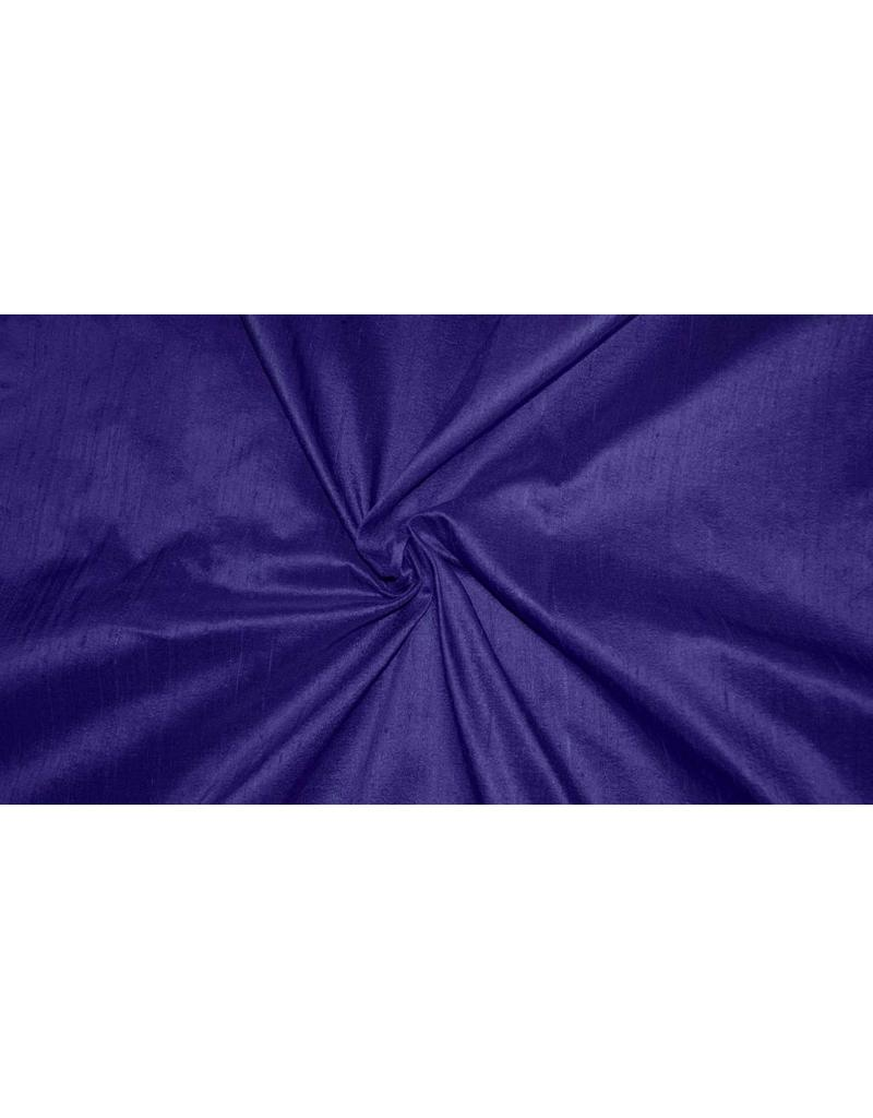 Dupionseide D35 - Dunkel Kobaltblau