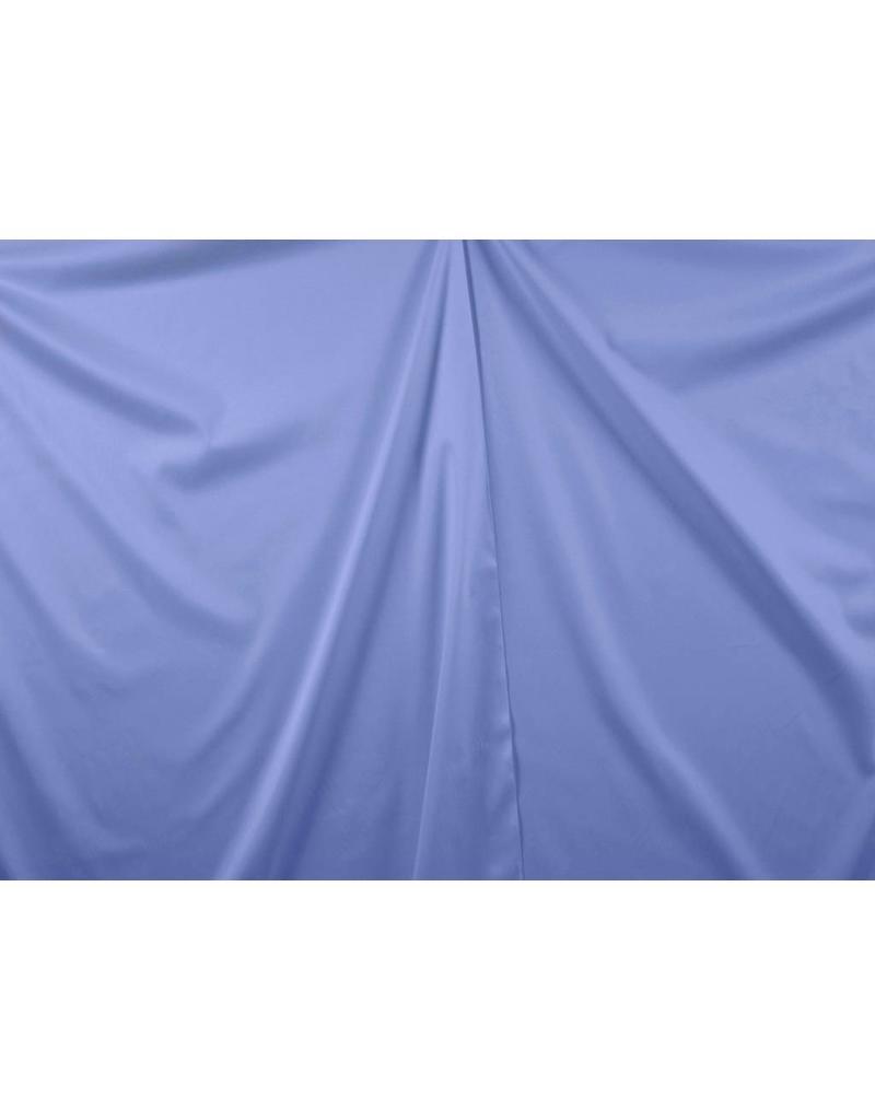 Baumwollsatin Uni 0028 - Kornblumenblau