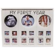 Houten Fotolijst 'My First Year'