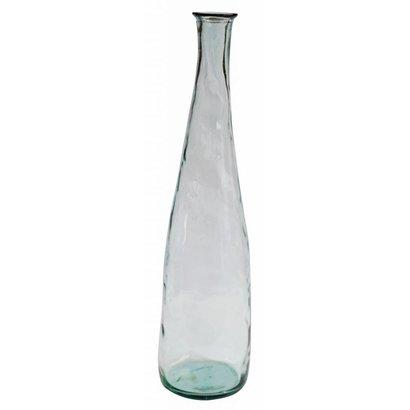 Mams collection Lange Heldere Glazen Vaas 'Aqua'