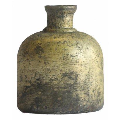 Kleine Vintage Gouden Fles