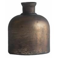 Kleine Vintage Bronzen Fles