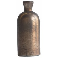Grote Vintage Bronzen Fles