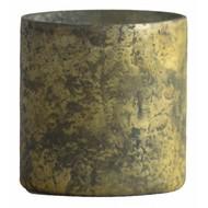 Waxinelichthouder WXLH Vintage Goud - Cilinder