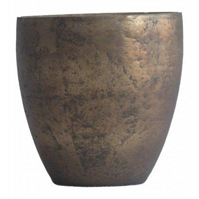 Waxinelichthouder WXLH Vintage Brons - Vaas