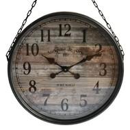 Vintage Klok 'Timber' aan Ketting
