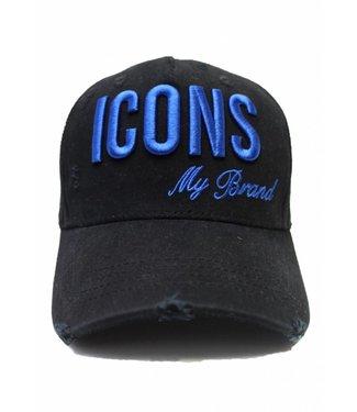 My Brand Icons Cap Blue