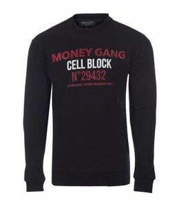 Explicit Money Gang Sweater Black