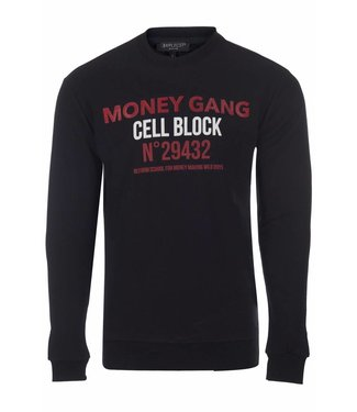 Explicit Money Gang Sweater Black