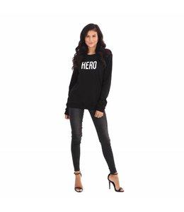 La sisters Sweater Hero Black