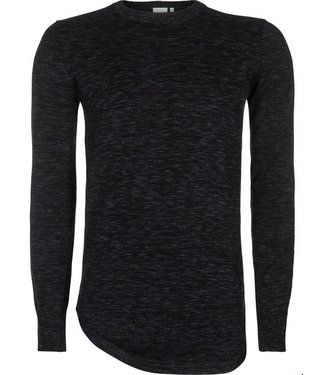 Pure White Sweater SS18 Black