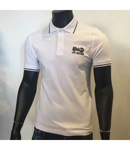 Love Moschino Polo White / black Slim Fit
