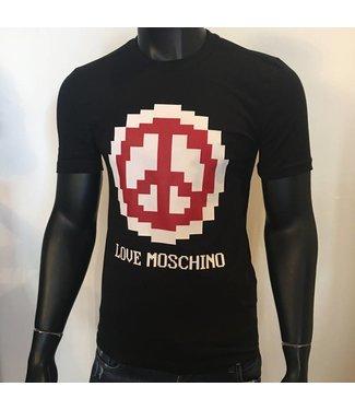 Love Moschino Pace Pixel Black Shirt