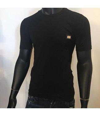 Love Moschino Slim Fit Black Shirt