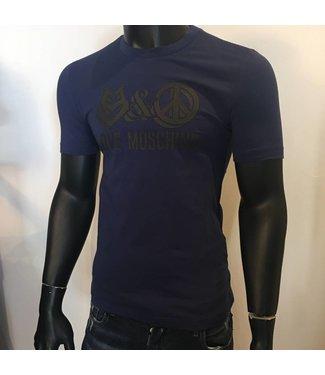Love Moschino Shirt Slim Fit Purple