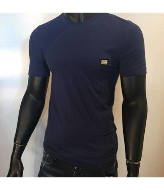 Love Moschino Basic Logo shirt Purple