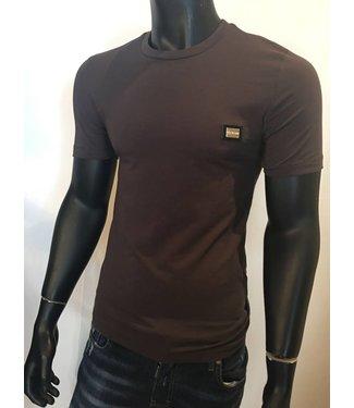 Love Moschino Basic Logo Shirt Taupe