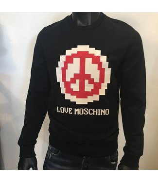 Love Moschino Pace Pixel Sweater Black