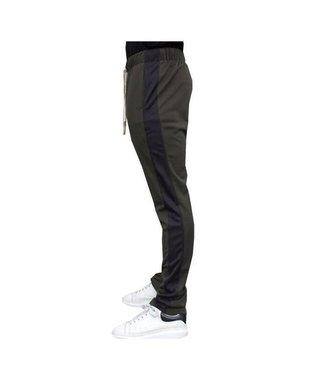 Radical Trackpants Army Black Stripe