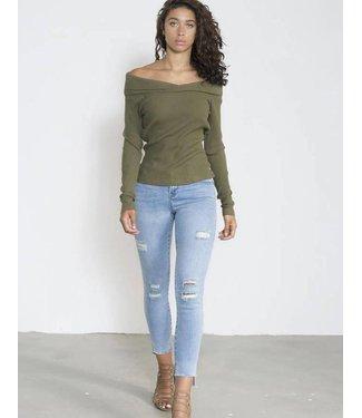 Jacky Luxury Trashed jeans