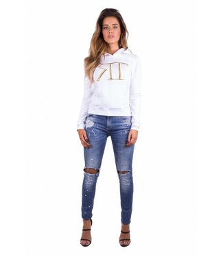 Royal Temptation Hoodie Ramira White
