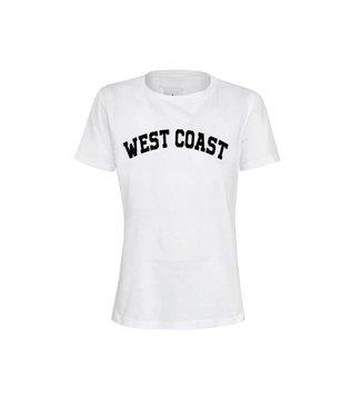 La sisters Shirt West Coast Tee White