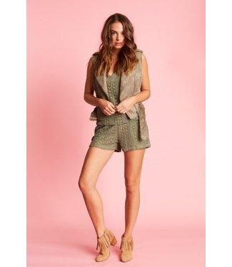 Jacky Luxury Shorts Knit Light Army