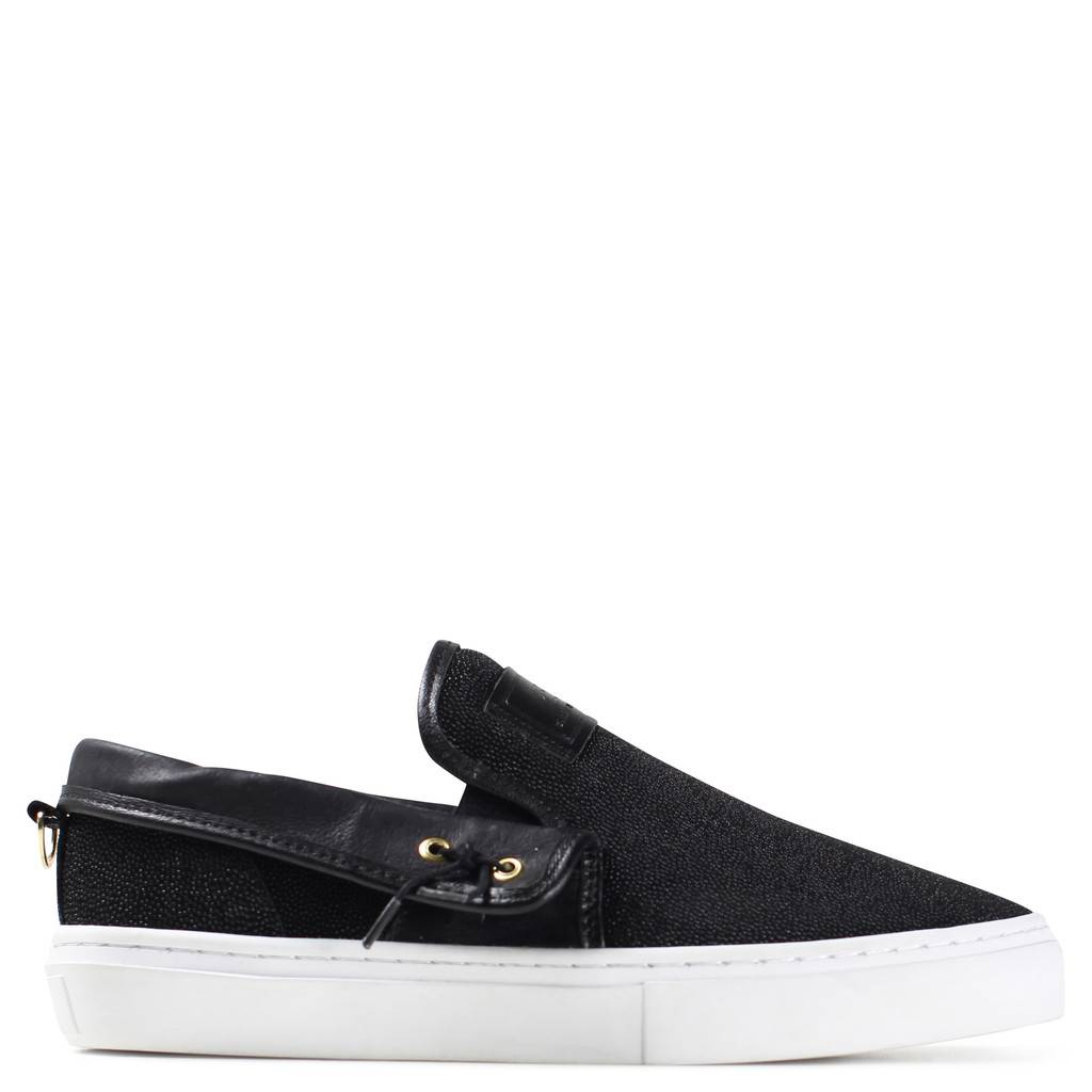 Clear Weather Lakota Slip Ons Pale Blue Suede 61415