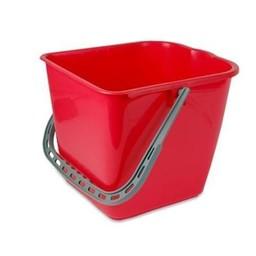 Brite-in Mopsysteem Emmer 15 Liter (Rood)