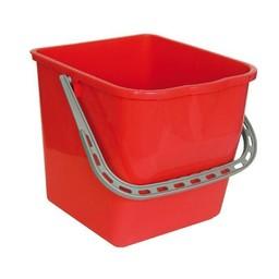 Brite-in Mopsysteem Emmer 25 Liter (Rood)