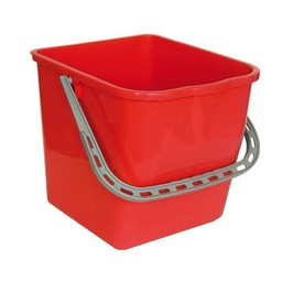 Mopsysteem Emmer 25 Liter (Rood)