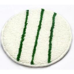 Brite-in Bonnetpad (wit/groen) 17 inch