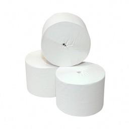 Cleanio Toiletpapier Coreless, 2-lgs Cellulose 900vel, Pak 36 rollen