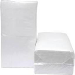 Cleanio Servetten 1/4, 1-laags Cellulose Wit (Pak á 500 stuks)