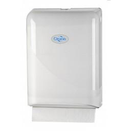 Cleanio C-Vouwhanddoekjes Dispenser (Pearl-White)