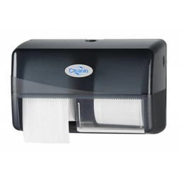 Pearl-Line Coreless Duo Toiletrol Dispenser (Pearl Black)
