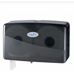 Pearl-Line Duo Jumbo-Mini Toiletrol Dispenser (Pearl Black)