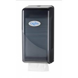 Cleanio Bulkpack Toiletpapierhouder (Pearl Black)
