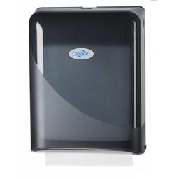 Cleanio C-Vouwhanddoekjes Dispenser (Pearl Black)