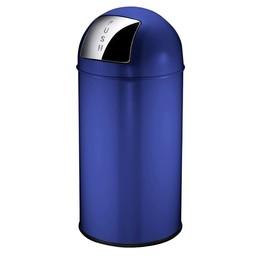 Vepabins Afvalbak Pushcan 40ltr Blauw