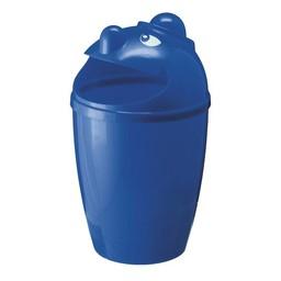 Vepabins Afvalbak Met Gezicht, 75ltr (Blauw)