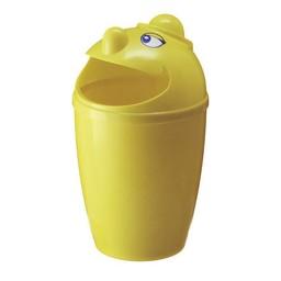 Vepabins Afvalbak Met Gezicht, 75ltr (Geel)