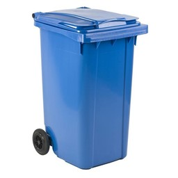 Vepabins Kliko / Mini Rolcontainer 240ltr Blauw