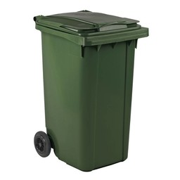 Vepabins Kliko / Mini Rolcontainer 240ltr Groen