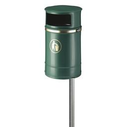 Vepabins Afvalbak Nickleby (40ltr) Groen