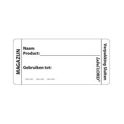 """Labellord Labellord - Codeer-etiketten met """"Magazijn"""""""