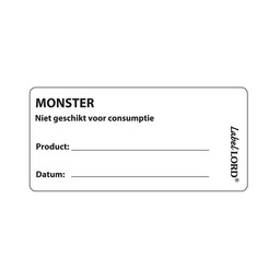 "Labellord Labellord -  Codeer-etiketten met ""Monster"""