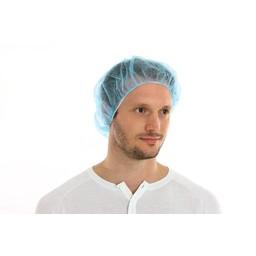 CMT Baret/Haarnetje PP Non-Woven Blauw (Bouffant CAP)