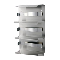 MediQo-Line MediQo-Line - RVS Handschoenendispenser (Driedubbel)