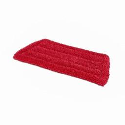 Wecoline Wecoline - Microvezel Velcro Vlakmop, 28cm (Rood)